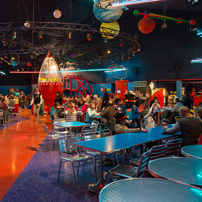 Buzz Lighyyear's Pizza Planet Restaurant