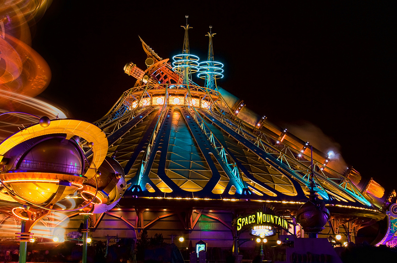 Disneyland Park Space Mountain: Mission 2