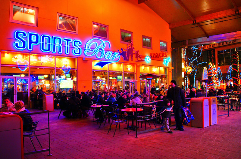 Disney Village Sports Bar